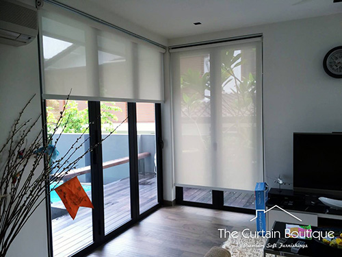 Singapore Roller Blinds Indoor The Curtain Boutique