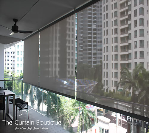 I Wish To Install Outdoor Roller Shades How Do Go About Doing It