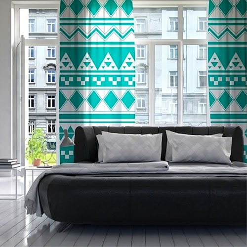 turquoise-curtain-bedroom-home-decor3