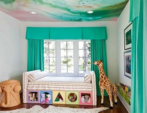 turquoise-curtain-bedroom-home-decor4