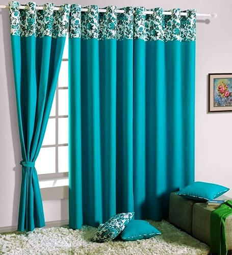 turquoise-curtain-living-room-home-decor